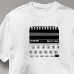 Radio Shack Computer T Shirt Vintage Logo TRS-80 by AxisTshirts