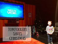 Tomfoolery Saves Christmas Theatre Show - preschooler, Christmas Activities, Sussex