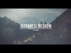 FREE After Effects CS5 Template - Elegant Slideshow 2 - YouTube