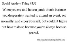 What is a panic attack? A panic attack is a sudden attack of exaggerated anxiety and fear. Often, attacks happen without warning and without any apparent reason Social Anxiety Disorder, Panic Disorder, Mental Disorders, Understanding Anxiety, Explaining Anxiety, Controlling Anxiety, Anxiety Help, Agoraphobia, Anxiety Problems