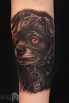 Mike DeVries - Labrador Pub Mix Tattoo