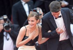 Emma Watson Photos - Actors Emma Watson and Israel Broussard attend 'The Bling Ring' premiere during The Annual Cannes Film Festival at the Palais des Festivals on May 2013 in Cannes, France. - 'The Bling Ring' Premieres in Cannes Israel Broussard, Emma Watson Dress, Alison Bechdel, The Bling Ring, Mother Daughter Relationships, Relationship Bases, Kirsten Dunst, British Actresses, Miranda Kerr