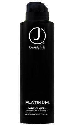 J Beverly Hills Platinum Take Shape Medium Hold Spray