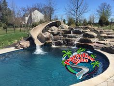 Wow! That slide looks Good! This one is a ParadiseSlides, Inc. #ResidentialWaterSlide Model PS 22T10L-S. Another fantastic job by @elitepoolsusa in Maryland. #PoolSlide #WhatsInYourBackyard Water Slides, Pool Slides, Can Design, Maryland, Ps, Swimming Pools, Backyard, Model, Swiming Pool