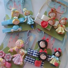 Bisuteria infantil Disney Word, Pasta Flexible, Cold Porcelain, Clay Creations, Baby Patterns, Hair Bows, Headbands, Diy And Crafts, Polymer Clay