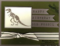 No bones about it old fossil birthday watermark
