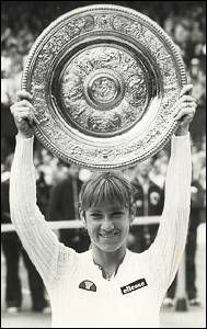 Chris Evert - 3x Wimbledon