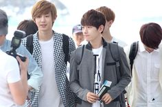 12.06.09 Incheon Airport - leaving for SMTown Taiwan (Cr: B'SPECTRA: baekhyun0506.com)