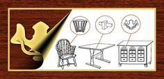 Guide to Furniture Styles - describes and dates nineteen popular furniture styles and their distinctive components - no more worrying if you didn't get to the Antique Roadshow to find out