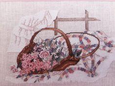 Wedding Ring Bouquet Cross Stitch Pattern by by EllieMarieDesigns