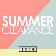 We know it's Hot outside! Stay in and #shoponline @danettesoasis email me for a list of clearance #sale items