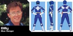 Billy, Mighty Morphin Blue Ranger