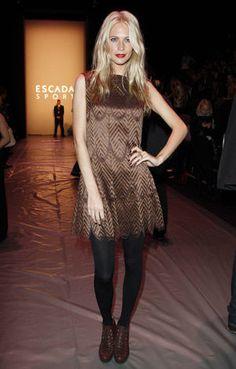 Poppy Delevingne at the ESCADA SPORT Fashion Show Fall/Winter 2012 in Berlin