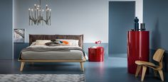 Morgan #letto #bed #letto in legno #letto imbottito #wooden bed #padded bed