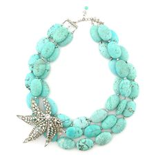 To the Tropics necklace by Elva Fields #elvafields