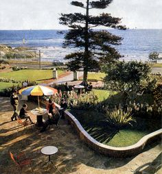 Surfcrest Hotel, Beach Rd, Sea Point, 1968 Cape Town, Continents, South Africa, Travelling, Nostalgia, Spirit, African, Patio, Sea