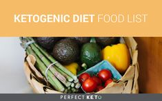The ketogenic diet is simple, but sometimes not easy! This is the full ketogenic diet food list you need for the absolute highest quality ketogenic diet.