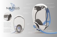 Concept scuba mask with visible monitoring oxygen and safer diving. http://www.deepbluediving.org/mares-puck-pro-dive-computer-review/