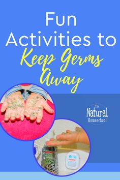 In this post Im sharing with you a great hands-on activity (no pun intended) to show children how stubborn germs can be. Fine Motor Activities For Kids, Hands On Activities, Preschool Activities, Fun Crafts, Crafts For Kids, Nature Crafts, Homeschool Kindergarten, Homeschooling, Toddler Play