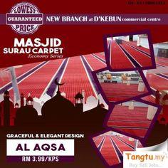 Commercial, Free Ads, Second Hand, Mosque, Basketball Court, Carpet, Design, Home Decor, Decoration Home