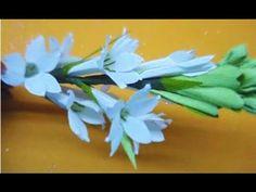 Paper flower - Tuberose / Rajnigandha - YouTube