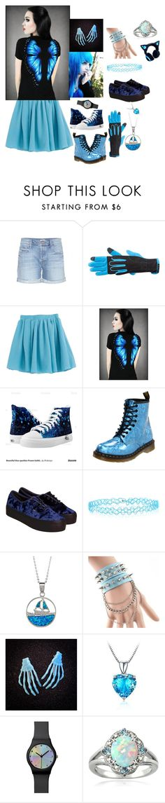 """""""Outfit 392"""" by creaturefeaturerules ❤ liked on Polyvore featuring Mother, Manzella, Disney, Dr. Martens, Vans, Monsoon, La Preciosa, Trend Cool, Belec and Glitzy Rocks"""