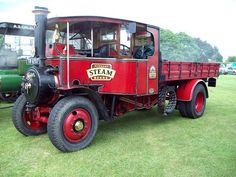 118 Foden Steam Lorry (1926) | Flickr