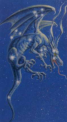 Dragons Tarot -- the Star