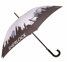 To celebrate the new Sherlock special coming to screens this Christmastime, we are releasing three new items to keep you warm and dry this winter. Two umbrellas