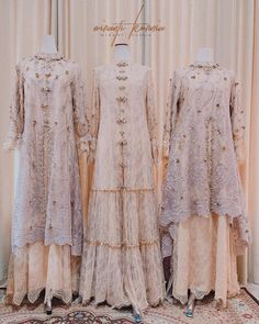 Dress Brokat Muslim, Dress Brokat Modern, Kebaya Modern Dress, Kebaya Dress, Dress Pesta, Dress Muslim Modern, Muslim Long Dress, Beautiful Prom Dresses, Pretty Dresses