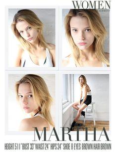 Rqmb Polaroids November Martha Streck Face Digitals Women Management New York City