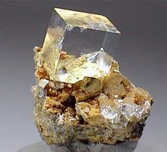 Clear Crystal of Fluorite