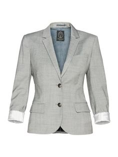 Shrunken Exeter Blazer #grey