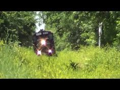 PREX 1606 in the brush ND&W Railroad GP16 on the Wabash - YouTube
