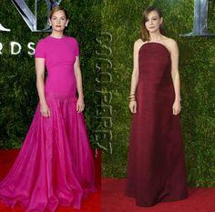 Co-Nominees Ruth Wilson & Carey Mulligan Covered Up At The Tony Awards