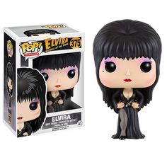 The Horror POP vinyls are a unique mix of scary with cute and Elvira is no exception. Elvira looks great in her Funko POP Vinyl style! Neat! Great for any fan of Elvira and the horror genre. Recommend