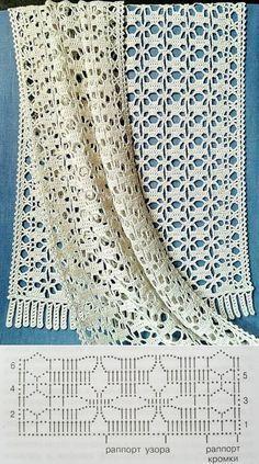 Most recent Totally Free Crochet poncho chal Ideas Палантин – накидка – шаль крючком, gratis teltekening, haaksc Poncho Au Crochet, Crochet Shawls And Wraps, Crochet Scarves, Crochet Shawl Diagram, Patron Crochet, Filet Crochet Charts, Knitting Charts, Crochet Motifs, Crochet Stitches Patterns