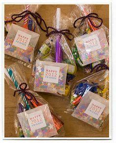 new year's eve kit--cute neighbor gift idea!
