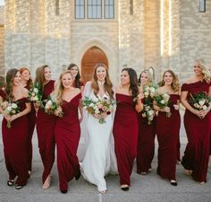 This week on The Buzz we are all about helping you choose the perfect red bridesmaid dress for your ruby wedding.Click the link in our bio to learn more! Jewel Tone Bridesmaid, Red Bridesmaid Dresses, Wedding Dresses, Bridesmaids, Ruby Wedding, Bridal Cape, She Girl, Modern Romance, Colors