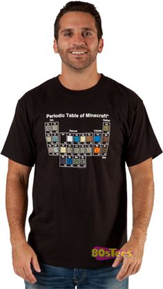 This Periodic Table Minecraft shirt