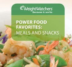 Book of Weight Watchers Power Food Favorite Recipes - Meals and Snacks. Easy to prepare & food I'd actually eat!