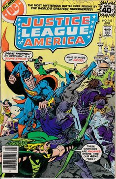 Justice League of America 1960 1st Series 165 April by ViewObscura