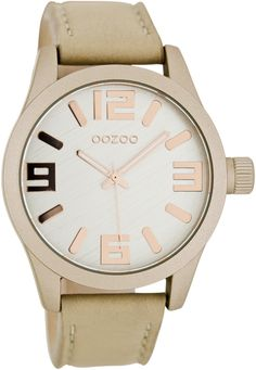 A true statement piece with rose gold accents. Be sporty and bold. Easy to wear casual but still distinctive. Leave an impression! But be quick - these are a limited edition!!  Beautifully designed in The Netherlands, OOZOO watches exude true style together with high quality and great value. A popular brand in Europe and now available in Australia.