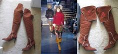427.49$  Watch now - http://vibps.justgood.pw/vig/item.php?t=2k1hsym59303 - $1755! SEXY PIRATE BOOTS! DSQUARED2 D2 WORN FOLDED OR OVER KNEE-10
