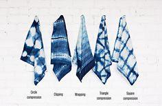 Popular indigo patterns