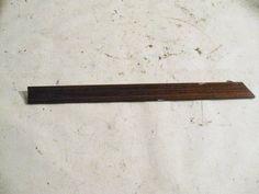Dash - Zebrano Wood Trim Center W124 e320 1246805171