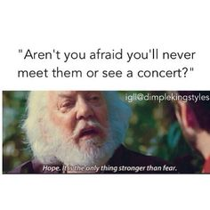 Lol haha funny pics / pictures / 1D / One Direction Humor / Hunger Games Humor / President Snow / Quote / FANDOMS UNITE!!