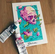 draw a face Posca Marker, Marker Art, Art Sketches, Art Drawings, Colorful Drawings, Posca Art, Arte Sketchbook, Wow Art, Sketchbook Inspiration