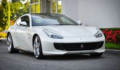 White Ferrari GTC4Lusso Arrives at Ferrari of Long Island