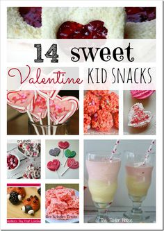 14 Sweet Valentine Snacks for Kids